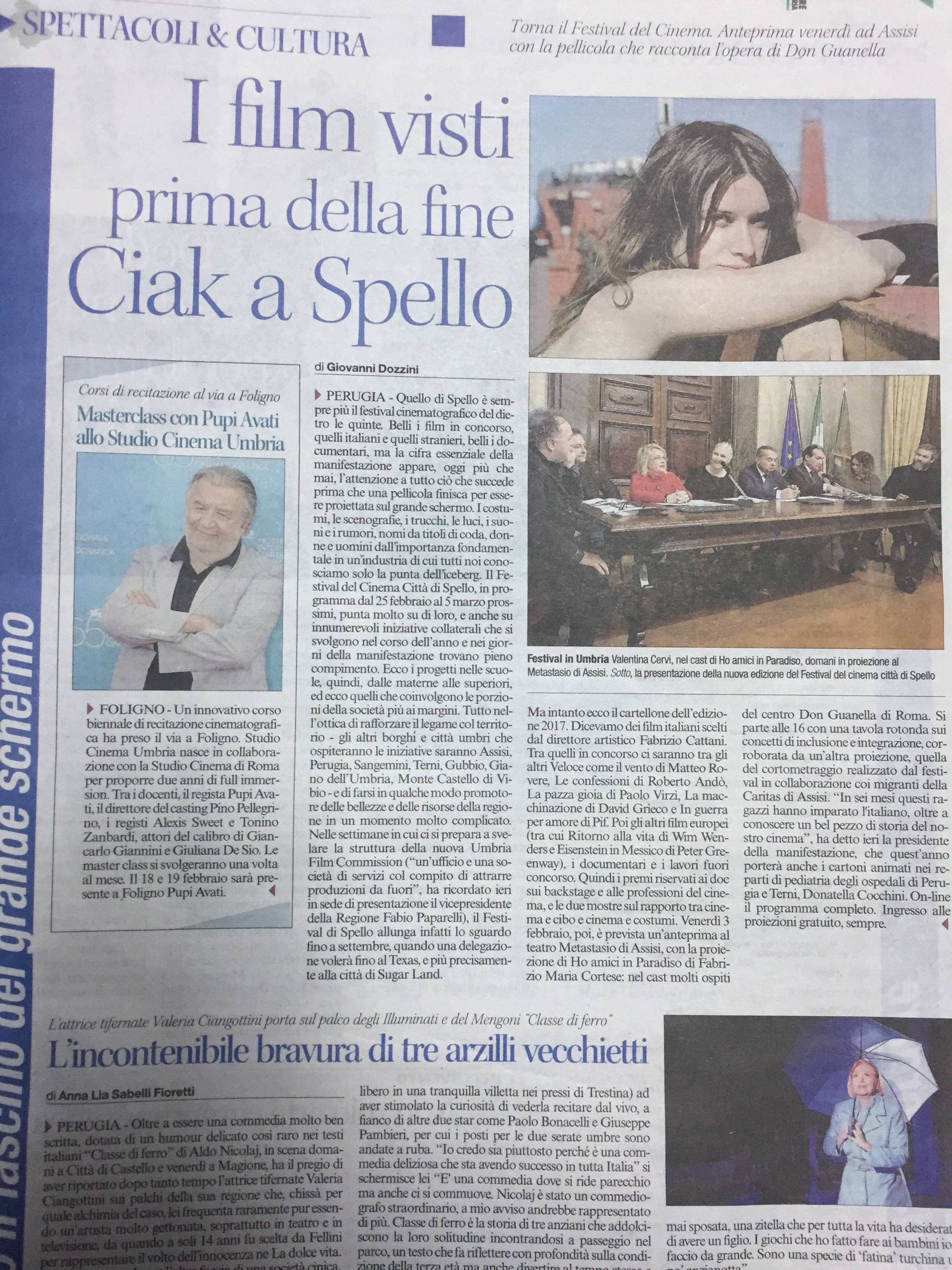 Corriere stampa